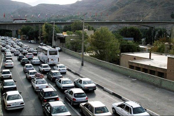 محدودیتهای ترافیکی محورهای مواصلاتی کشور