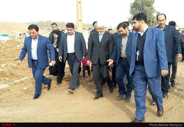 بازدید اعضای فراکسیون امید از مناطق زلزلهزده کرمانشاه