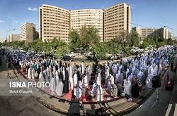 پوشش تصویری نماز عید فطر با ۱۱ دوربین