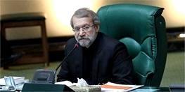 لاریجانی: کشورهای مسلمان روابط سیاسی با آمریکا را تعلیق کنند