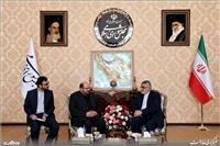 گزارش تصویری/ دیدار نماینده حماس با علاءالدین بروجردی