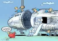 تفاوت هواپیماهای ما و اونا!