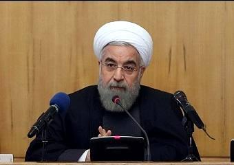 روحانی: ملت ایران همواره بر مبنای مصالح ملی خود تصمیم میگیرد/ انتقاد و اعتراض در همه امور حق مردم است