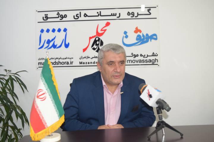 انتخاب حسین زادگان فرصتی برای قرارگیری مازندران در مدار توسعه است