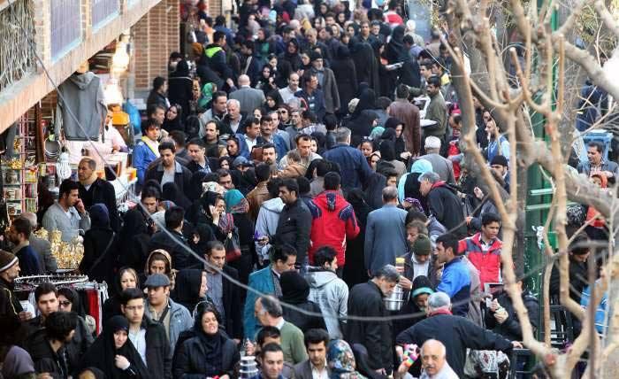 از هر ۱۰۰ ایرانی ۱۱ نفر در تهران زندگی میکنند