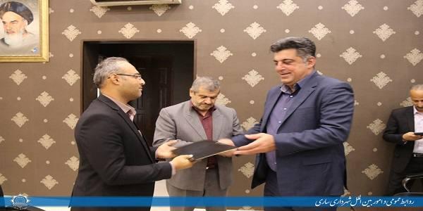 انتصاب رییس جدید سازمان عمران و بازآفرینی شهری شهرداری ساری