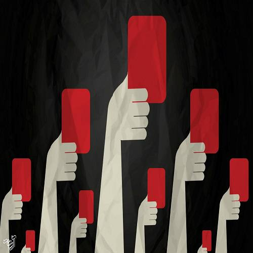 کارت قرمز برای کاندیدایی که ادعا میکند حامی کارگران است