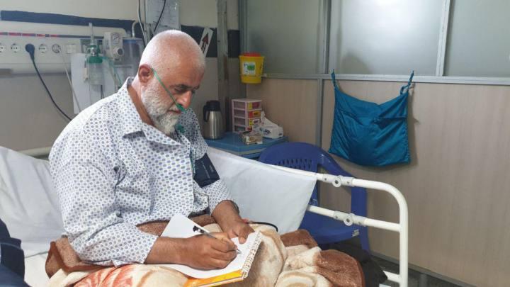 از عارضه قلبی و بستری شدن حضرت آیتالله صمدی آملی تا مرخص شدن از بیمارستان